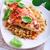 焼き鳥 · 乳がん · 野菜 · ディナー · フォーク · 白 - ストックフォト © user_11224430