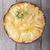 appeltaart · vla · houten · tafel · glutenvrij · dessert · taart - stockfoto © user_11224430