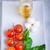 ingrédient · caprese · ingrédients · bol · table · feuille - photo stock © user_11224430
