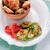 жареная · курица · крыло · пластина · продовольствие · фон · куриные - Сток-фото © user_11224430