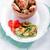 tavuk · kızartma · kanatlar · taze · sebze · teriyaki · sos · gıda - stok fotoğraf © user_11224430