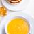 pumpkin creme soup and pumpkin pie stock photo © user_11224430