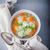 leves · húsgombócok · zöldségleves · tyúk · tányér · hús - stock fotó © user_11224430