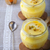 panna cotta of almond milk with saffron stock photo © user_11224430