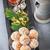 mandulák · sütik · kávé · dohányzóasztal · desszert · ünnep - stock fotó © user_11224430
