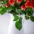 vaso · rosas · vermelhas · velho · flor · textura - foto stock © user_11224430