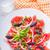 grapefruit · saláta · olajbogyók · vöröshagyma · bazsalikom · asztal - stock fotó © user_11224430