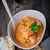 caril · de · frango · arroz · servido · superfície · comida - foto stock © user_11224430