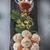 mandulák · sütik · fából · készült · felület · étel · tél - stock fotó © user_11224430