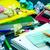 aprendizagem · novo · linguagem · escrita · palavras · muitos - foto stock © user_9323633