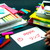 learning new language making original flash cards japanese stock photo © user_9323633