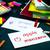 learning new language making original flash cards spanish stock photo © user_9323633