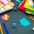 colorido · origami · ninja · bonitinho · jogar · juntos - foto stock © user_9323633