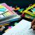 Lernen · neue · Sprache · schriftlich · Worte · viele - stock foto © user_9323633
