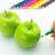 desenho · maçã · como · frutas · legumes - foto stock © user_9323633