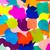 pembe · kabarcıklar · çerçeve · şeffaf · banyo · sabun - stok fotoğraf © user_9323633