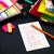 schriftlich · neue · Sprache · Englisch · Worte · lernen - stock foto © user_9323633