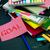mensagem · trabalhando · secretária · meta · escritório · escolas - foto stock © user_9323633