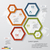 simpleeditable 4 steps chart diagrams template stock photo © user_9385040