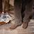 klasszikus · bársony · kárpit · lábak · terv · retro - stock fotó © user_9834712