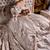 fiatal · gyönyörű · menyasszony · gyönyörű · nő · esküvői · ruha · ül - stock fotó © user_9834712