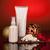 cosméticos · crema · año · nuevo · café · botella - foto stock © user_9834712