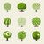 primavera · carvalho · ilustração · desenho · animado · grande · verão - foto stock © ussr