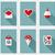conjunto · romântico · dia · dos · namorados · símbolos · flor · casamento - foto stock © ussr