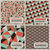 set of retro styled seamless patterns vector illustration stock photo © ussr