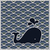 sem · costura · ondulado · padrão · azul · baleia · água - foto stock © ussr
