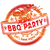 Rubber stamp summer grilling barbecue party stock photo © Ustofre9