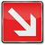 Fire safety sign arrow to the right  stock photo © Ustofre9