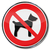prohibition sign dogs are not allowed stock photo © ustofre9