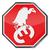 pare · dívida · ilustração · vermelho · branco · aviso - foto stock © ustofre9