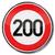 hız · limiti · işaretleri · örnek · dört · yol · işaretleri · yol - stok fotoğraf © ustofre9