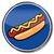 знак · Hot · Dog · колбаса · горчица · пластина · признаков - Сток-фото © Ustofre9