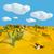 корова · череп · высушите · пустыне · песок · горячей - Сток-фото © Ustofre9