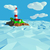 Lighthouse on a small island in the sea stock photo © Ustofre9