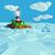 Маяк · небольшой · острове · морем · модель · океана - Сток-фото © Ustofre9