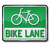 bike · corsia · segno · bicicletta - foto d'archivio © ustofre9