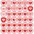 ayarlamak · kırık · kalpler · sevmek · örnek · yalıtılmış - stok fotoğraf © valeo5