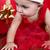 赤 · かなり · ヌード · 女性 · 少女 - ストックフォト © vanessavr
