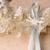 blue and cream ribbons stock photo © vanessavr