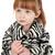 kahverengi · çizgili · zebra · kürk · taklit · doku - stok fotoğraf © vanessavr
