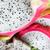Dragon · frutta · rosa · pezzi · alimentare - foto d'archivio © vanessavr