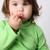 baby · eten · lolly · witte · hand · kind - stockfoto © vanessavr