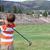 jogador · de · golfe · caixa · jovem · masculino · bola · oceano - foto stock © vanessavr