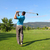 tiro · jóvenes · masculina · golfista · conductor · golf - foto stock © vanessavr