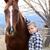 馬 · ファーム · 風光明媚な · 画像 · 黒 · 木製 - ストックフォト © vanessavr