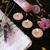 pluche · roze · bloemen · hand · handdoek · schoonheid - stockfoto © vanessavr